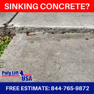 concrete, lifting, leveling, repair, florida, georgia, polyurethane driveway leveling