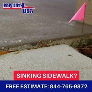polyurethane sidewalk leveling, florida, georgia